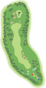 the course horizons golf resort port stephens rh horizons com au Link Golf Course Diagram golf hole diagram