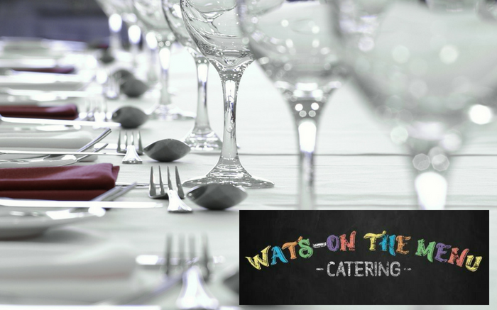 Wats-on the menu catering
