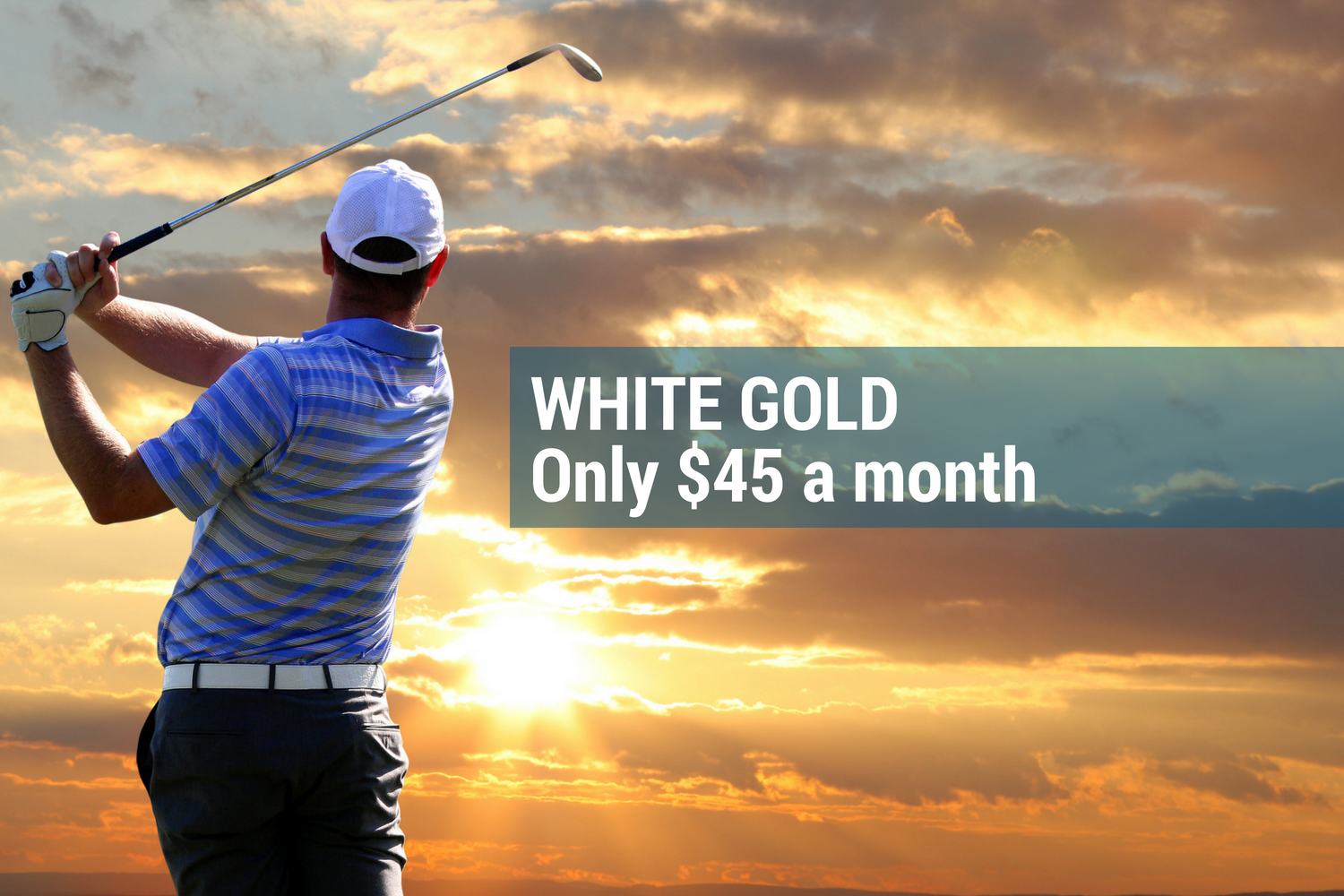 White Gold membership at Horizons