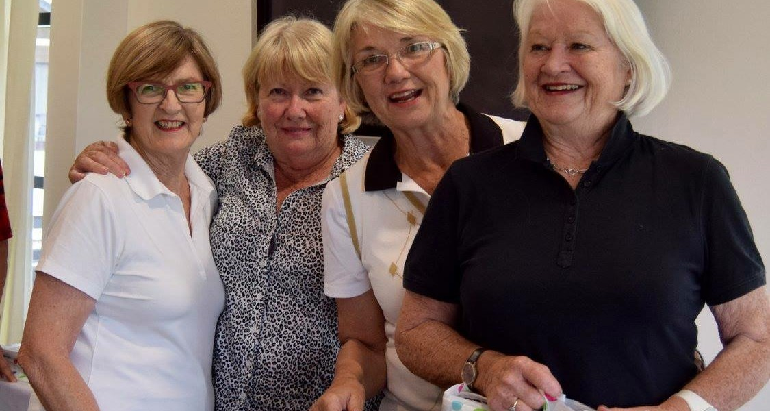 Runners Up Net: Kathy Barnes, Denise Atkinson, D. Falster & Jane Reynolds