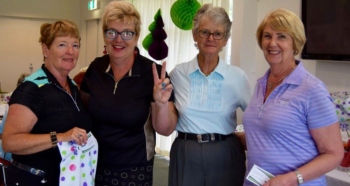 Best Net Score Back Nine: Betty Trickett, Colleen O'Brien, Lee Martin & Gail Rogers
