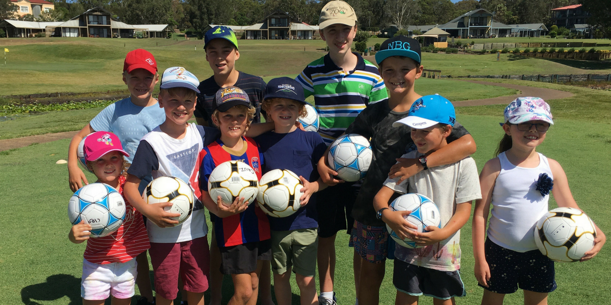 FootGolf School Holiday program