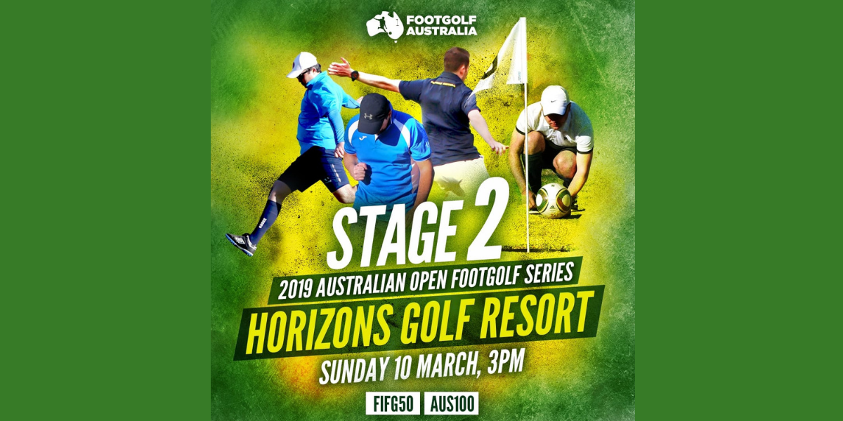 2019 Australian Open FootGolf Series